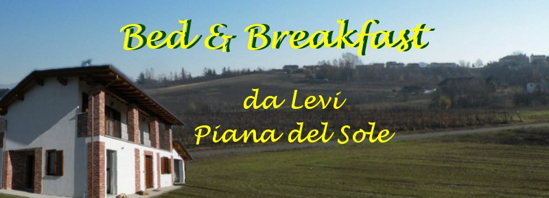 Bed and Breakfast in Piedmont, Italy